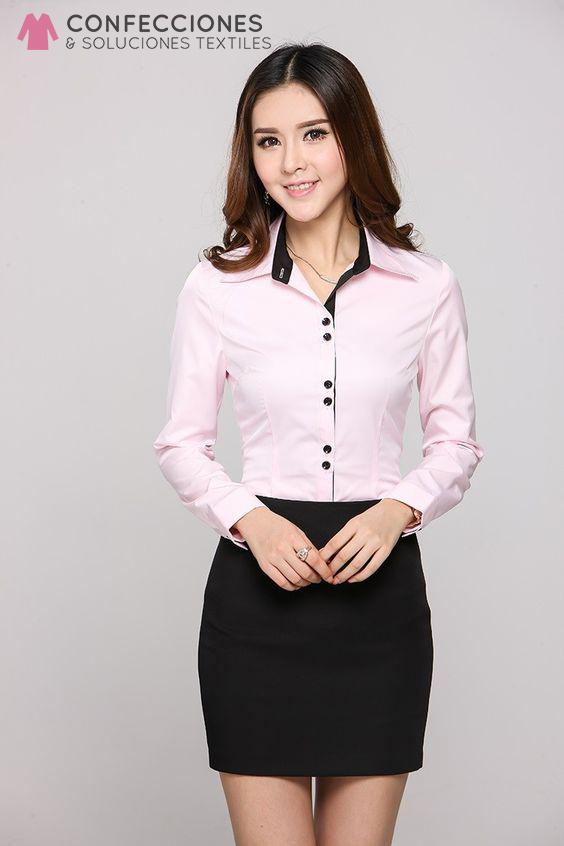 camisa con 6 botones y moda en cuello cstradha