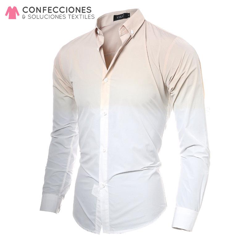 camisa para caballero manga larga uniforme cstradha