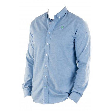 Camisas Escolares Blancas Al Por Mayor Azul
