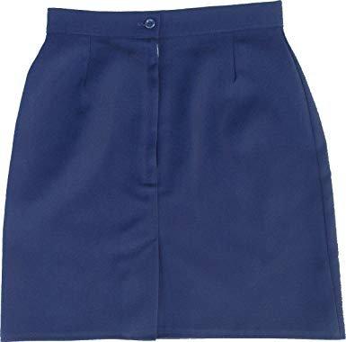 Falda Escolar Azul Marino Normal