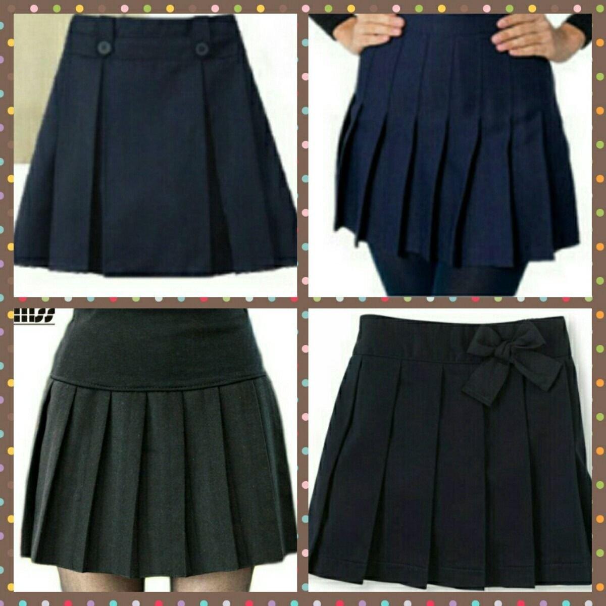 Faldas Escolares En Diferentes Tipos De Plisados