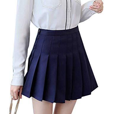 Faldas Para El Colegio Plisadas