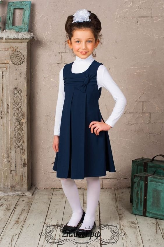 Jumper Con Body De Uniforme Escolar Para Nina