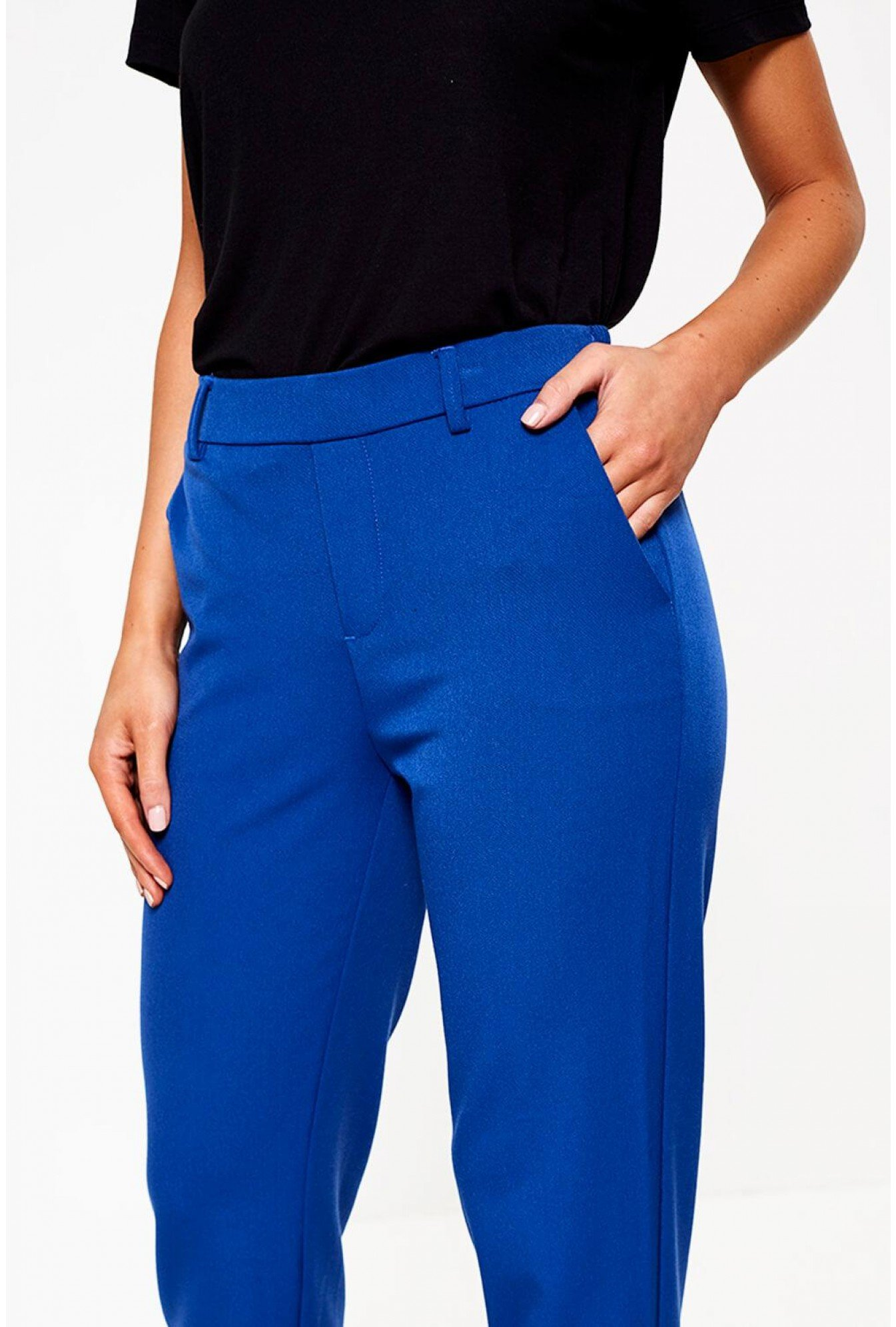 Pantalon De Adolescente De Uniforme Escolar Azul Rey Cstradha