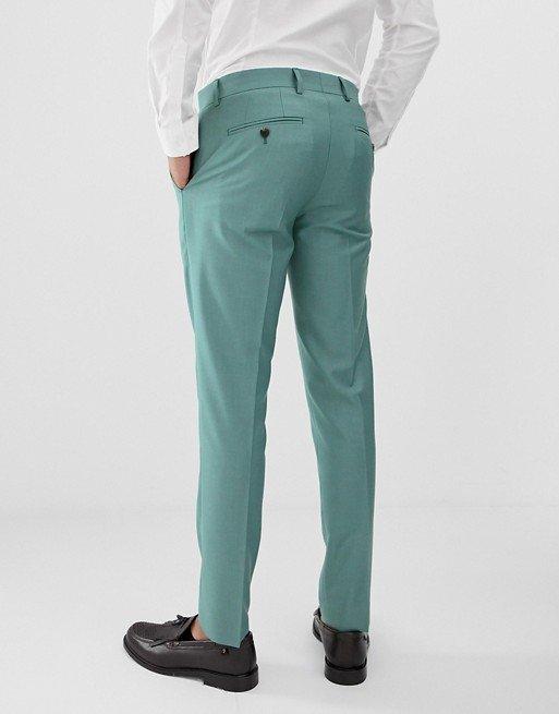 Pantalon De Uniforme Escolar Verde 2