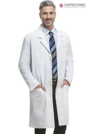 bata medica hombre blanca cstradha