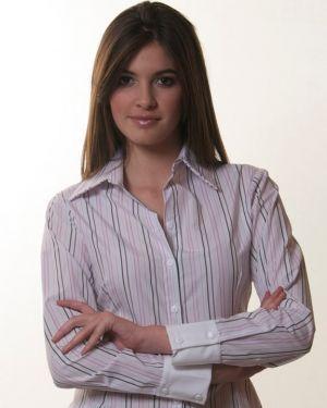 Blusa Formal Blanca De Uniforme Para Maestras De Colegio