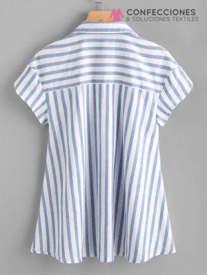 camisa mil rayas mujer cstradha