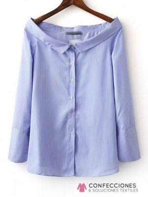 camisa sin espalda para mujer cstradha