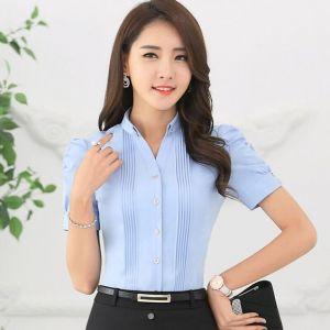 Camisa Chacabanas De Mujer Tipo Alforzada Sin Bolsillo