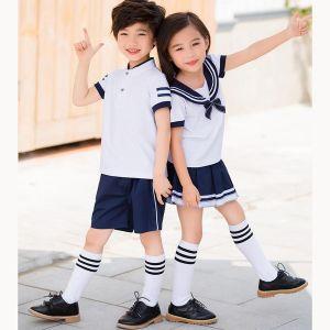 Camisa Con Lazo Para Uniforme Preescolar