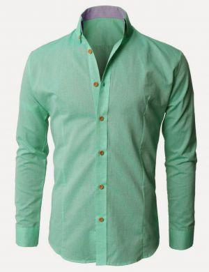 Camisa De De Uniforme Escolar Verde