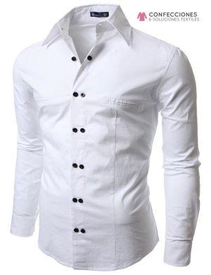 camisas para hombre casual con pares de botones cstradha