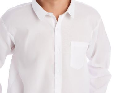 Camisas Escolares Blancas Al Por Mayor Para Ninos Con Cuello Normal