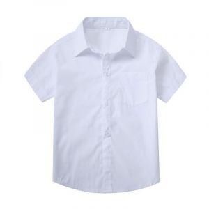 Camisas Escolares Blancas Al Por Mayor Sencilla 2