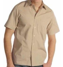 Camisas Escolares Para Niñas Color Caqui