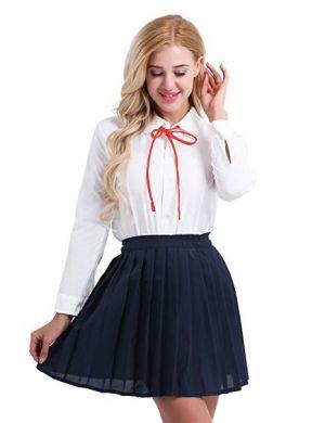 Camisas Escolares Para Niñas Con Cintillo