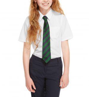 Camisas Escolares Para Niñas Con Corbata Verde