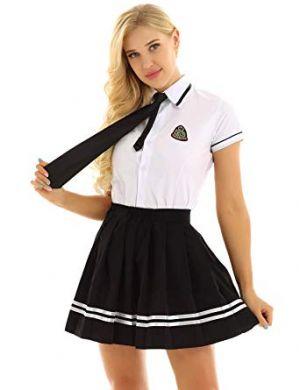 Camisas Escolares Para Niñas Con Corbatin