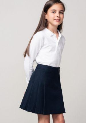 Camisas Escolares Para Niñas Sencilla