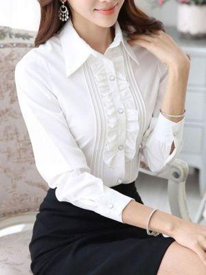 Chacabana Camisa Para Mujer Con Vuelo