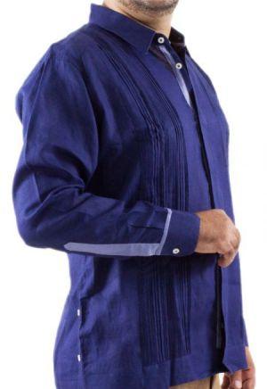 Chacabana Moderna Para Hombre Azul Royal