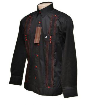 Chacabanas Negras Con Combinaciones Y Botones Rojos