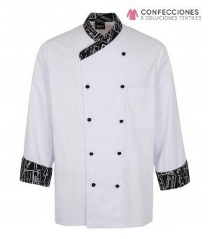 chaqueta chef uniforme para restaurante cstradha