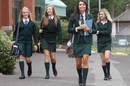 Conjuntos De Uniforme Escolar Verde