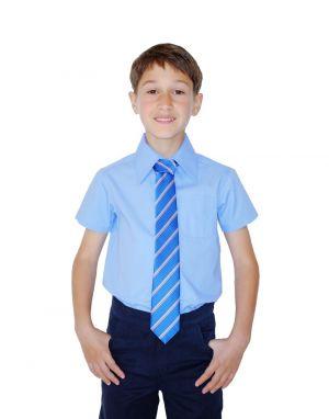 Corbata De Uniforme Escolar Azul Cstradha