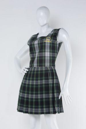 Falda Jumper Escolar Cubridora En Estilo Escoces