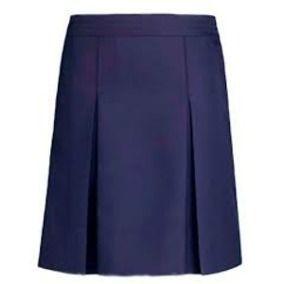Falda Pantalon Escolar De Dos Tachones