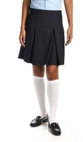Faldas Escolares Para Niñas Con Dos Tachones
