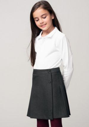 Faldas Escolares Para Niñas Grises