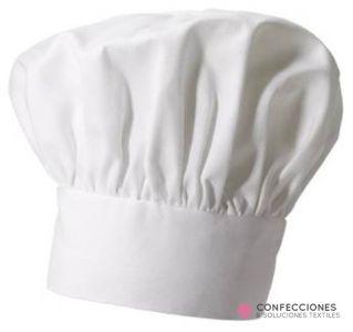gorro chef blanco normal cstradha