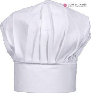 gorro para chef blanco cstradha