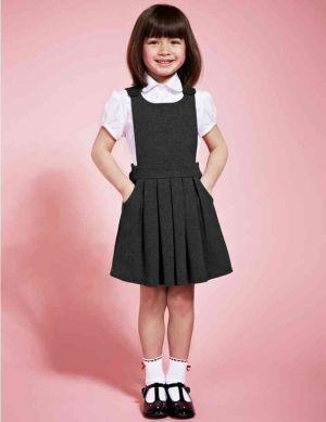Jumper Falda Plisado De Uniforme Escolar Para Nina