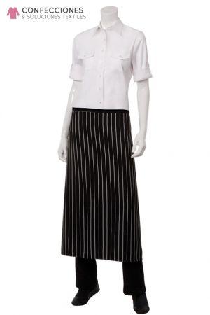 mandil para chef en forma de falda cstradha