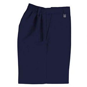 Pantalon Escolar Azul Marino Tela Fina