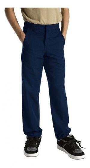 Pantalon Escolar Con Polo Caqui