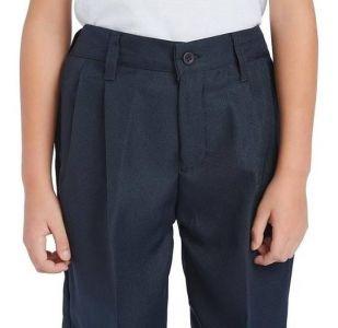 Pantalon Escolar Con Tachones