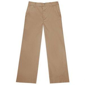 Pantalon Escolar Kaki En Tela De Vestir