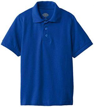 Polo De Uniforme Escolar Azul Rey Cstradha