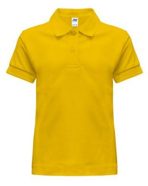Poloshirt De De Uniforme Escolar Amarillo