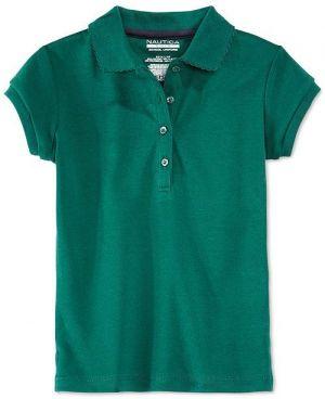 Poloshirt De Uniforme Escolar Verde