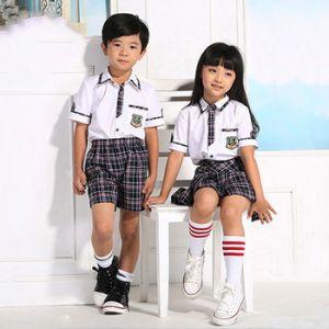 Poloshirt Y Falda Para Uniforme De Primaria