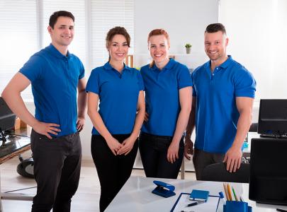 Poloshirts Azules De Uniformes Para Colegios