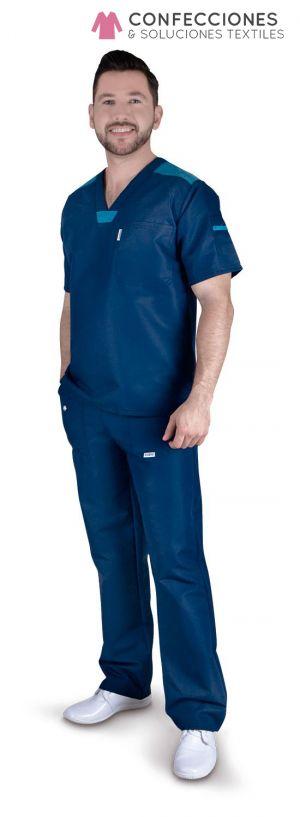 uniforme azul combinado hombre cstradha
