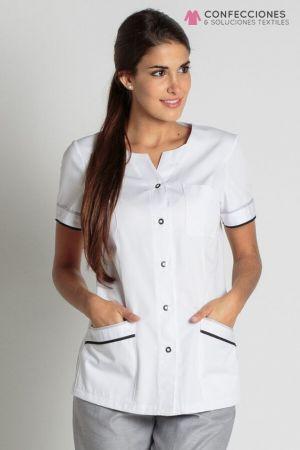 uniforme medico gris mujer cstradha