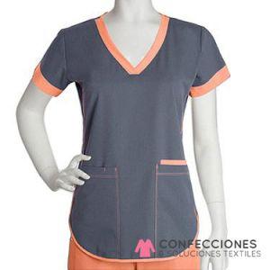 uniforme naranja mas gris cstradha
